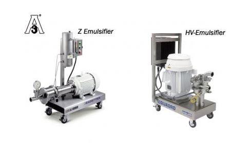 Liquids emulsifiers