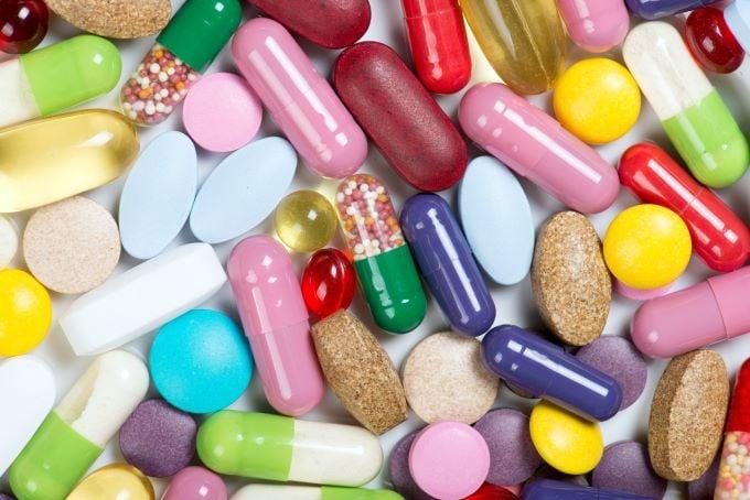 Pharma Colour Coated Tablets