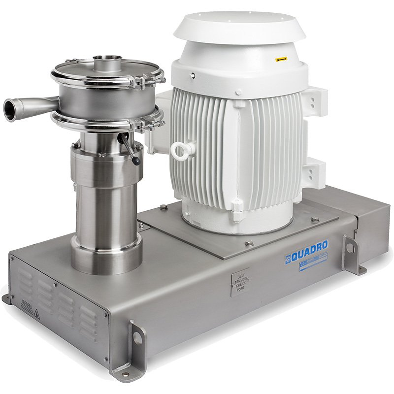 Quadro HV submicron emulsion suspension micronization wet mill